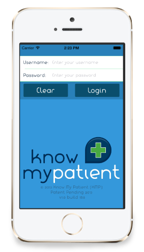 Nightingale Apps Know My Patient App on iOS graphic
