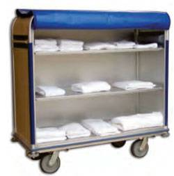 Aluminum-Linen-Cart-24in-W-1